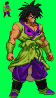 Kamui Broly (Uniform Form) - Sprite