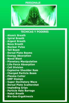 Primal Godzilla's Powers