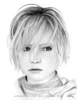 Heather Mason *Portrait - Silent Hill 3 by Demento-Liszt