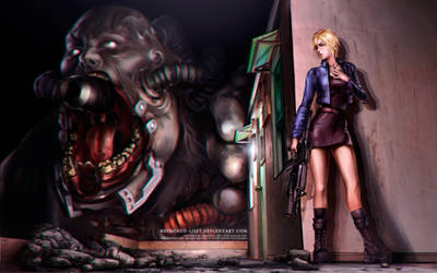 Parasite Eve 2 - Battle against The Burner by Demento-Liszt