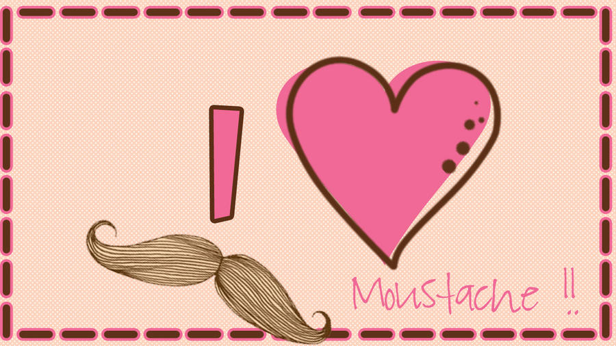 moustache pink by sriitadewatt on deviantart