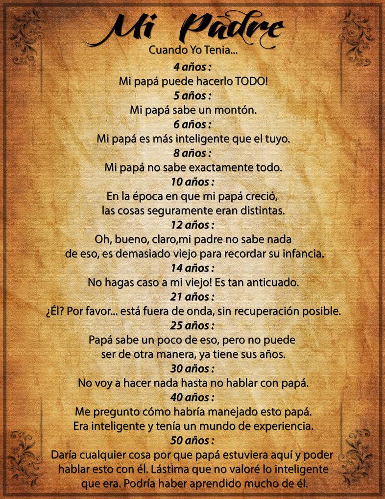 Poema para un padre fallecido | FRASES DE SAN VALENTIN