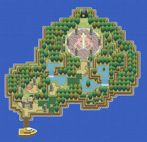 Redesign of Fullmoon Island from DPPT