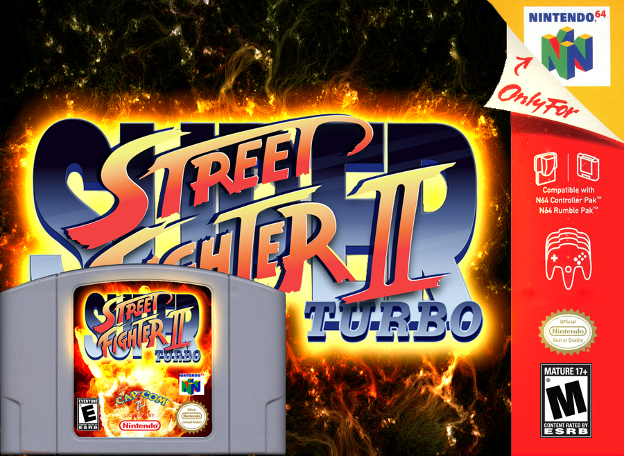 Super Street Fighter Ii Turbo Champion Edition N64 By Maniac1075