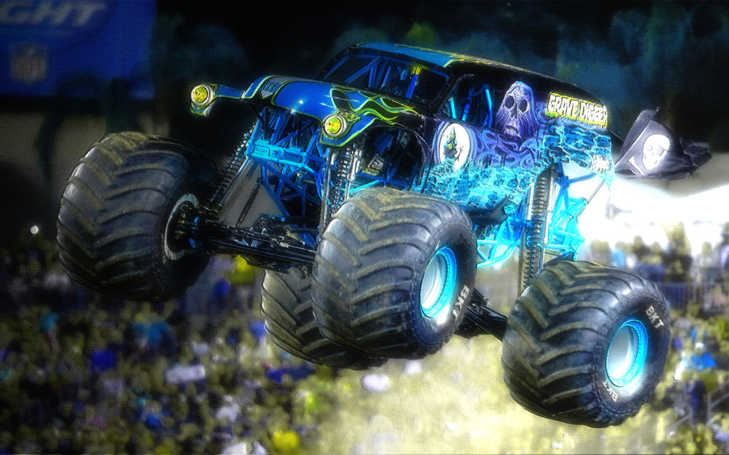 Grave Digger - Blue by Maniac1075