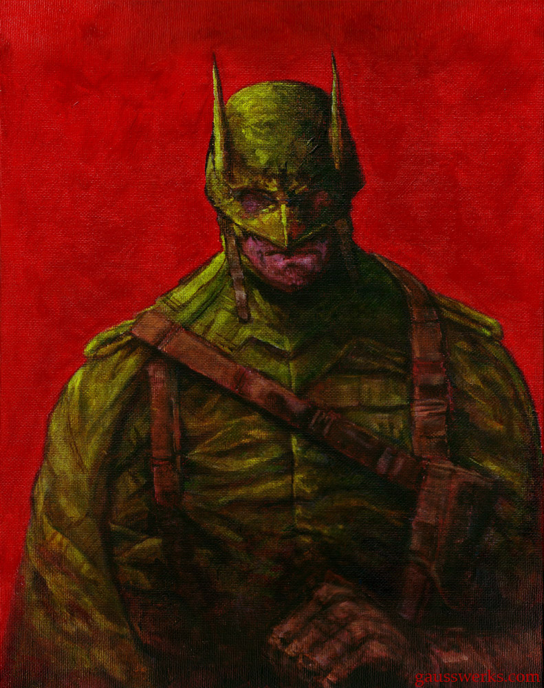 Batman 1944 by gausswerks