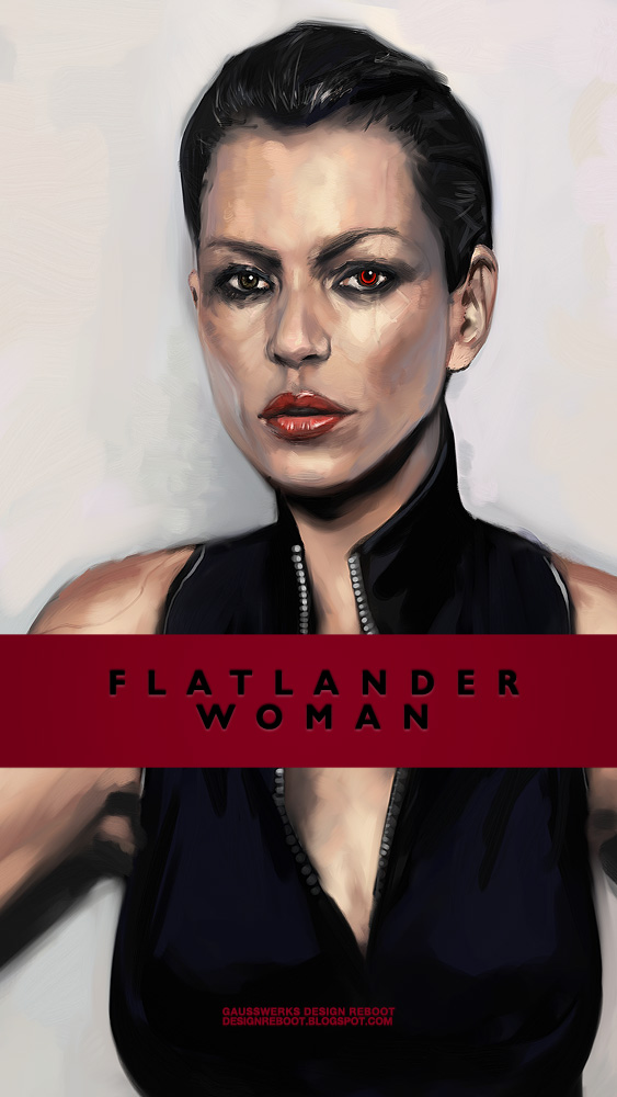 Flatlander Woman by gausswerks