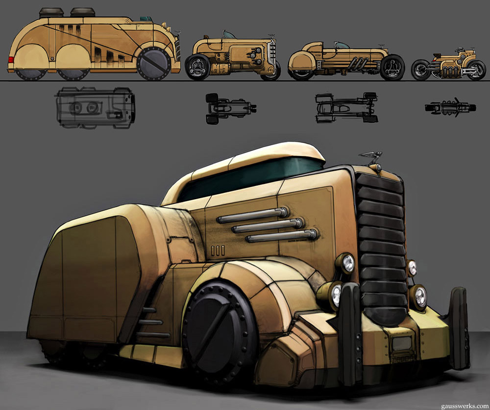 Burham Diesel by gausswerks