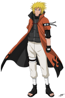 Jonin Naruto (from Trials of Ice and Fire) by ZimmMaster