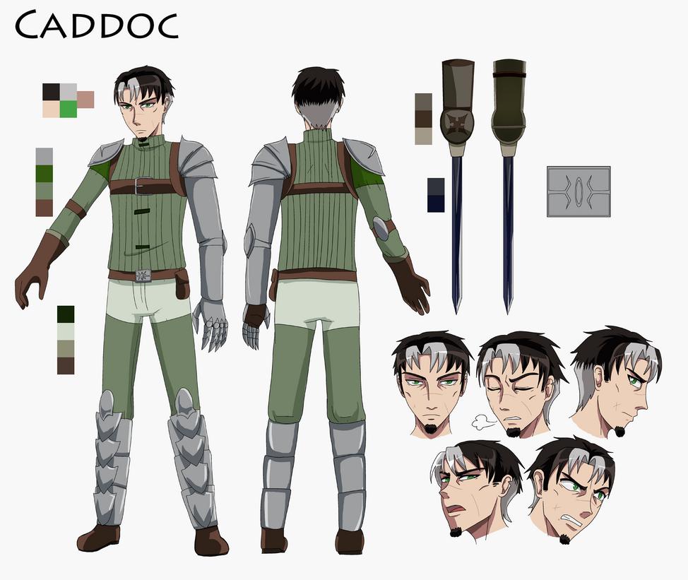 Caddoc (Regicide) by SilverDrifter42