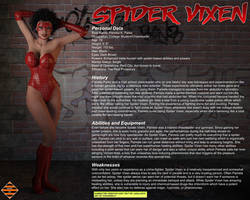 Spider Vixen - Character Profile by JGalley0