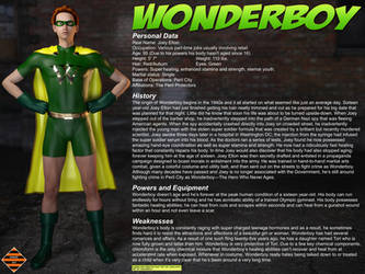 Wonderboy - Character Profile by JGalley0