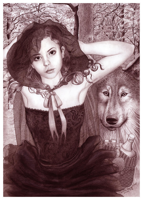 Little Red Riding Hood by ArtistsForCharity