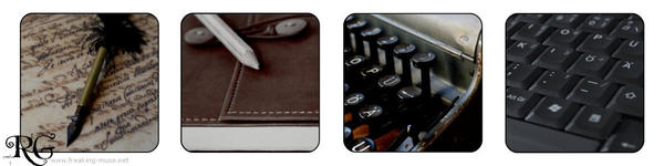 Writer's Evolution by ArtistsForCharity