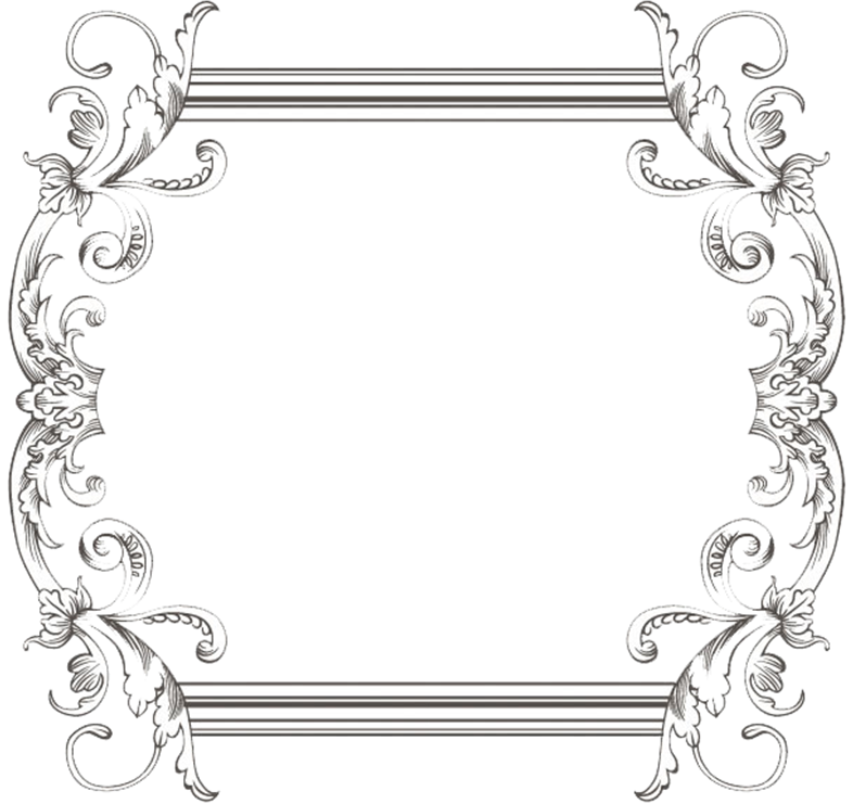 Vintage Black Frame Png Custom vintage frame three by