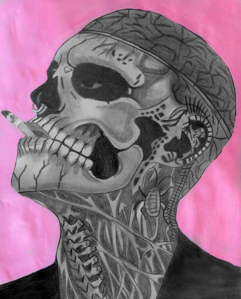 Zombie Boy (Rick Genest) by callista777