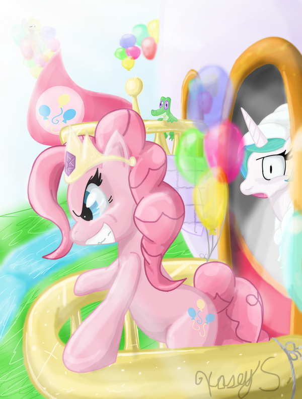 Princess Pinkie by xNosidex
