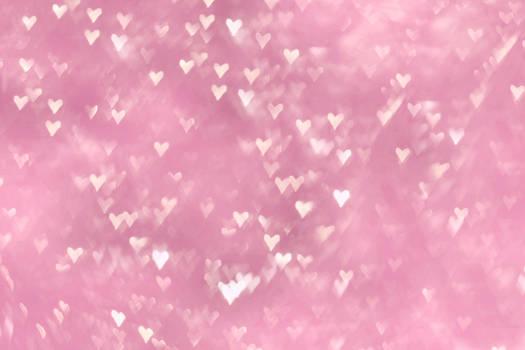heart pink texture bokeh