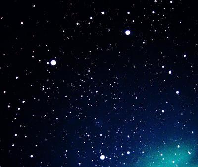 let it snow in Blue