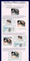 Eye Tutorial Photomanipulation