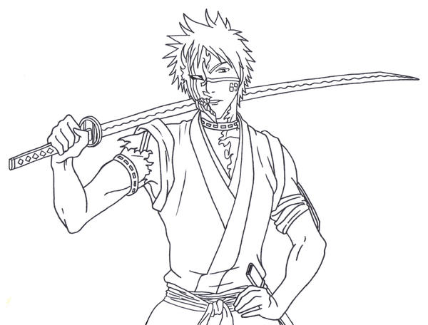 Bleach Hisagi By AsherothTheDestroyer On DeviantArt