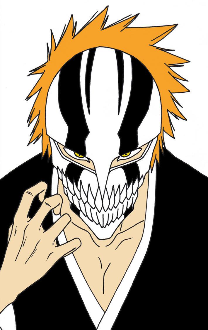 Vizard ichigo by asheroththedestroyer on deviantart - Ichigo vizard mask ...