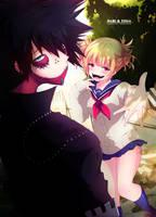 Dabi and Himiko Toga by Inkspirate