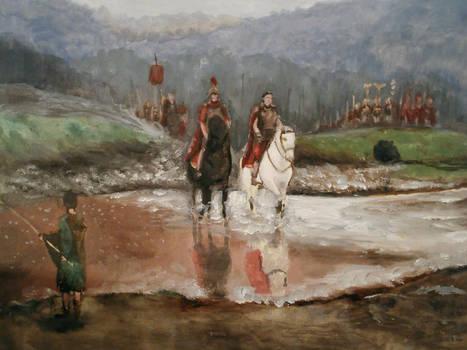 Ben Pook - Caesar crossing the Rubicon