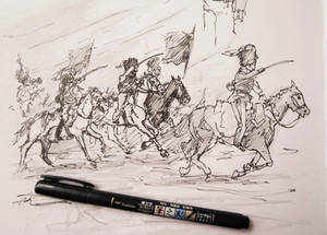 Ben Pook - Hussar Charge