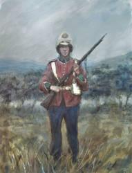 Ben Pook - British Soldier
