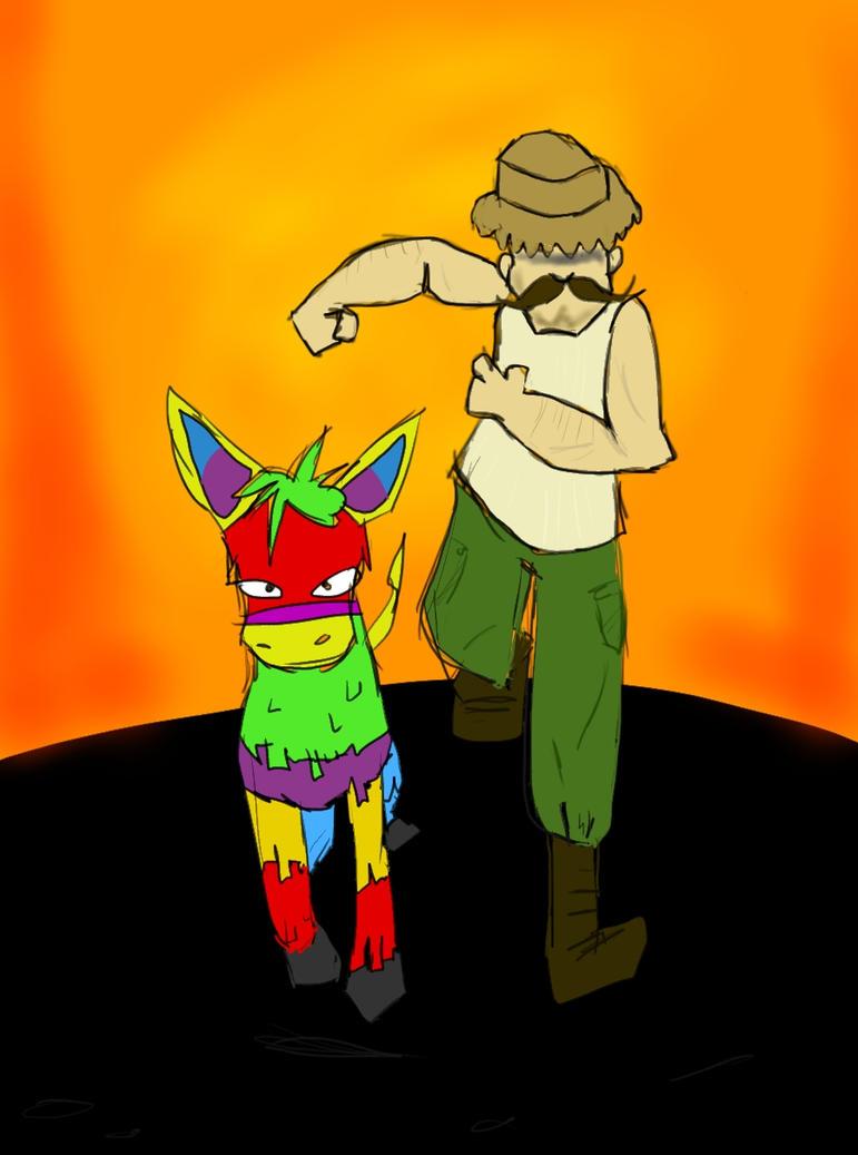 Pablo Diablo and his Burro of Doom -- Revamp by Tigerach