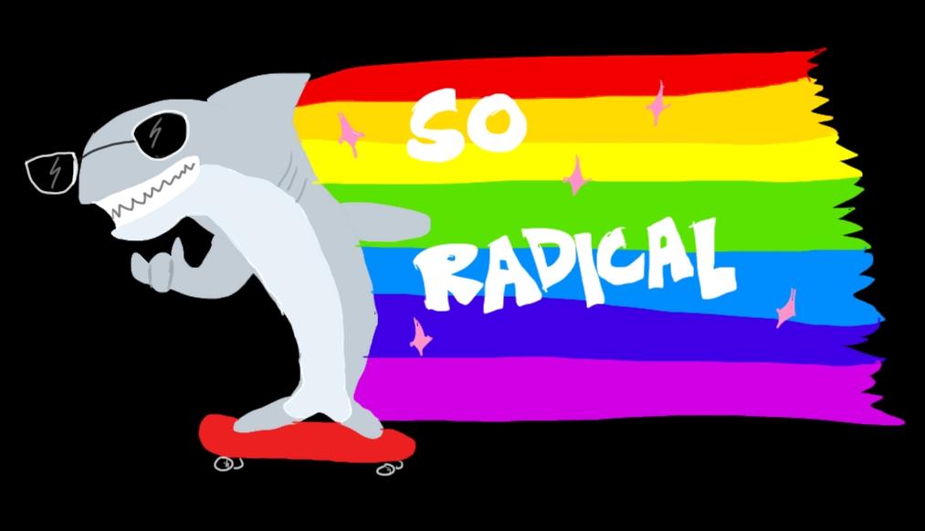 Radical Shark by Tigerach