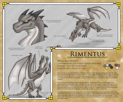 Rimentus Reference Sheet (2017) by RimentusTheDragon