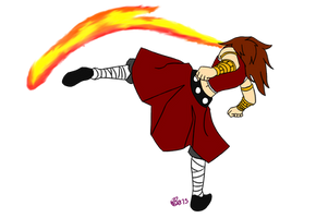 Fire Kick by Wolfbin