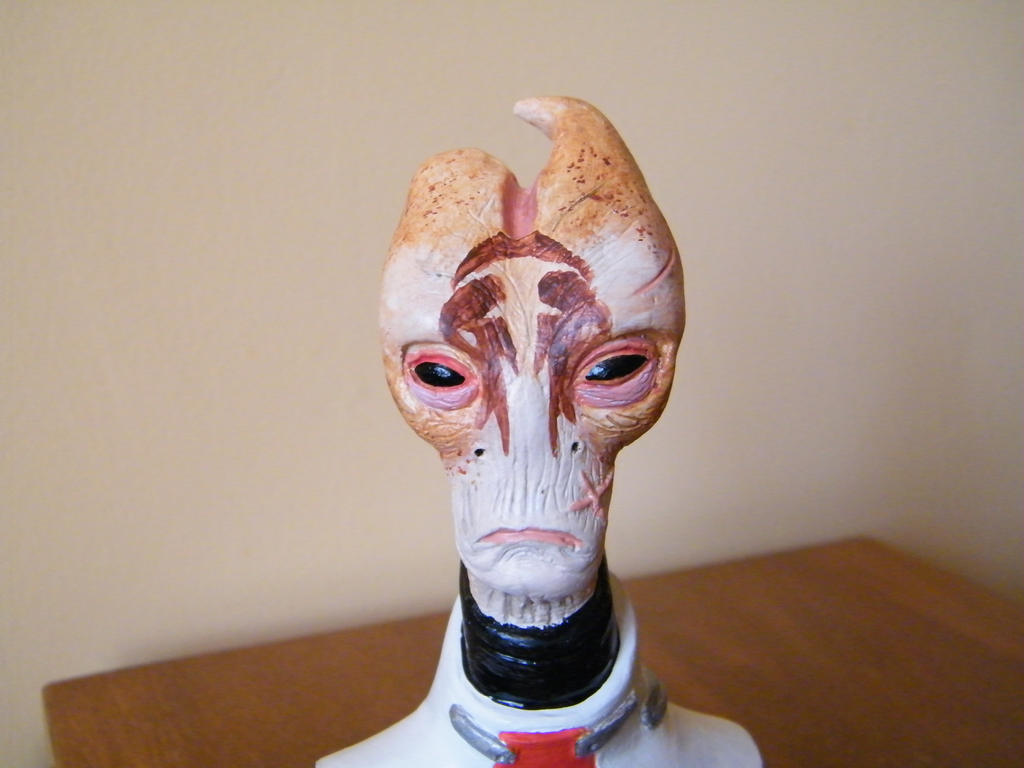 Mordin Solus Finished - Portrait by blinksda92