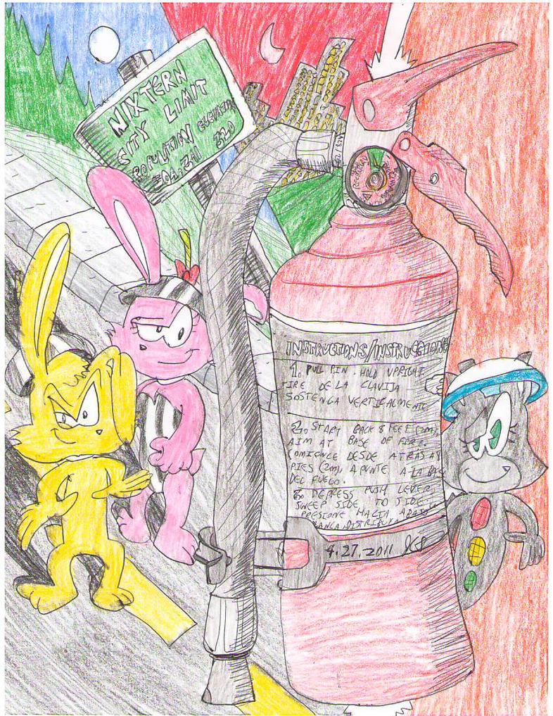 Bomb Bunnies by Josiah-Shockency-JCS