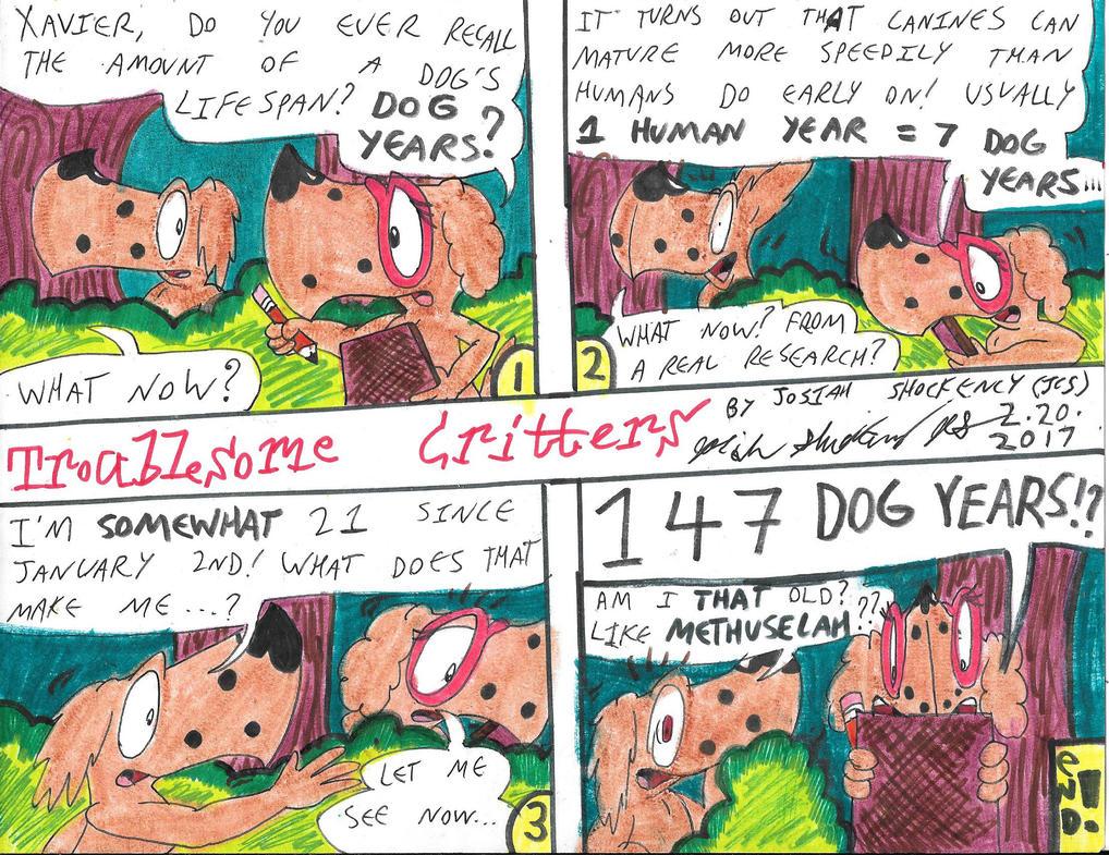 Those DOGgone Years.... by JCSStudio