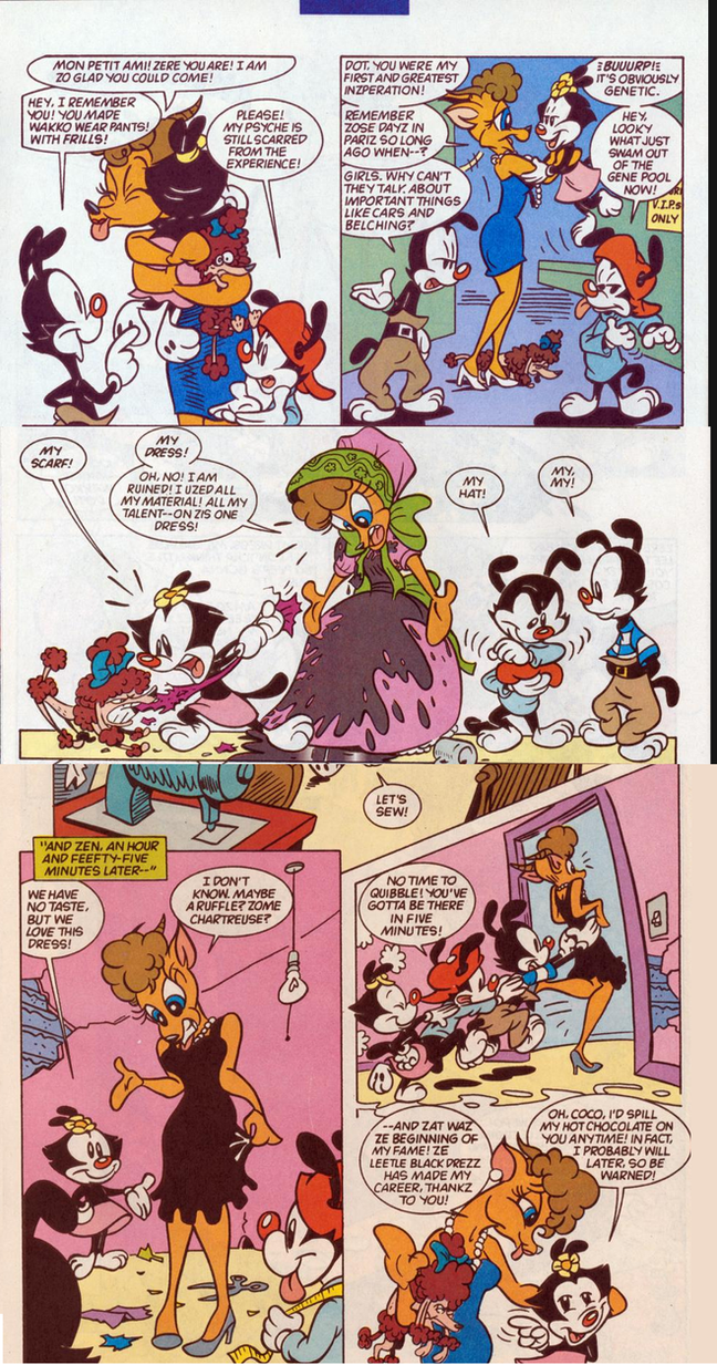 Coco Gazelle [Animaniacs Comic Scans] by JCSStudio on ...
