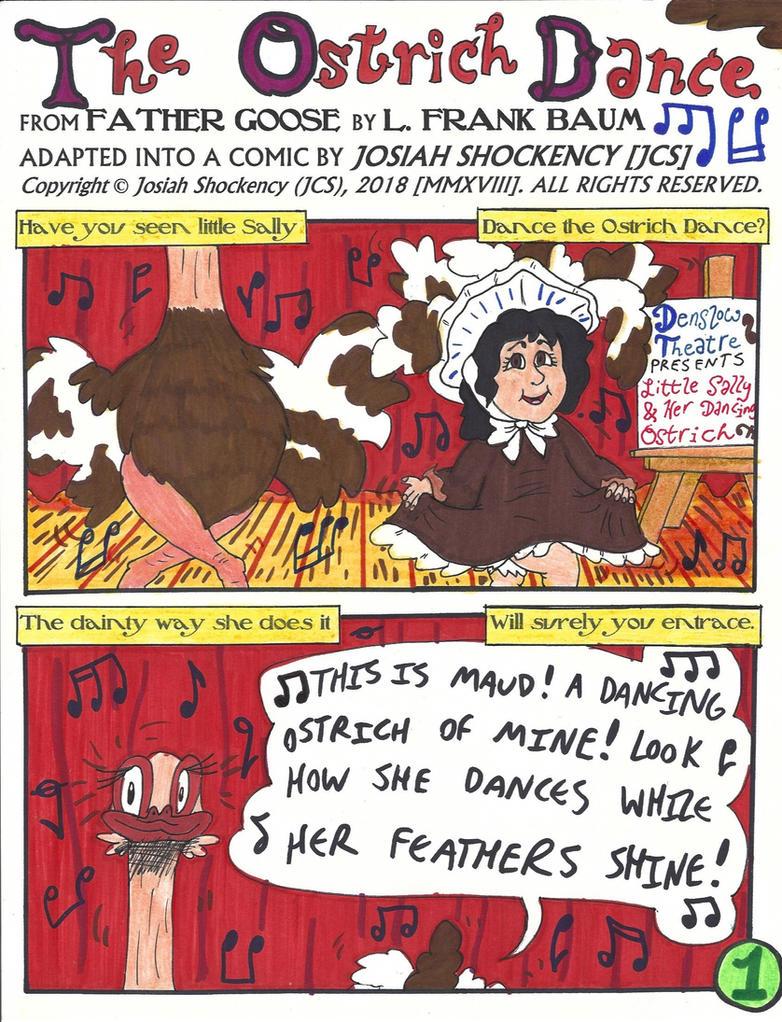 The Ostrich Dance [L. Frank Baum] 1/3 Page by JCSStudio