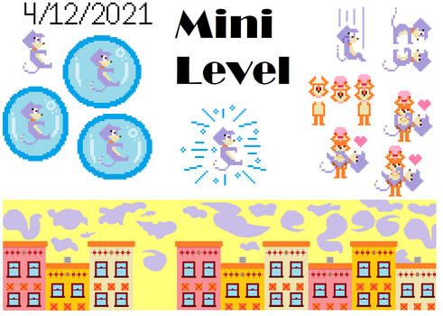 ROOFTOP ROW Mini Level: Bubble