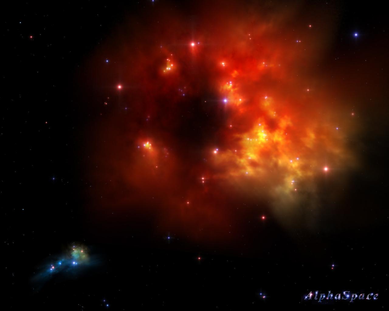 fiery nebula purple - photo #5