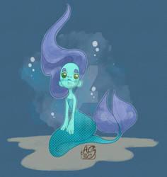 Children Illustration Concept | Sweet Mermaid