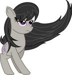 Glamour shot of Octavia (vectored)