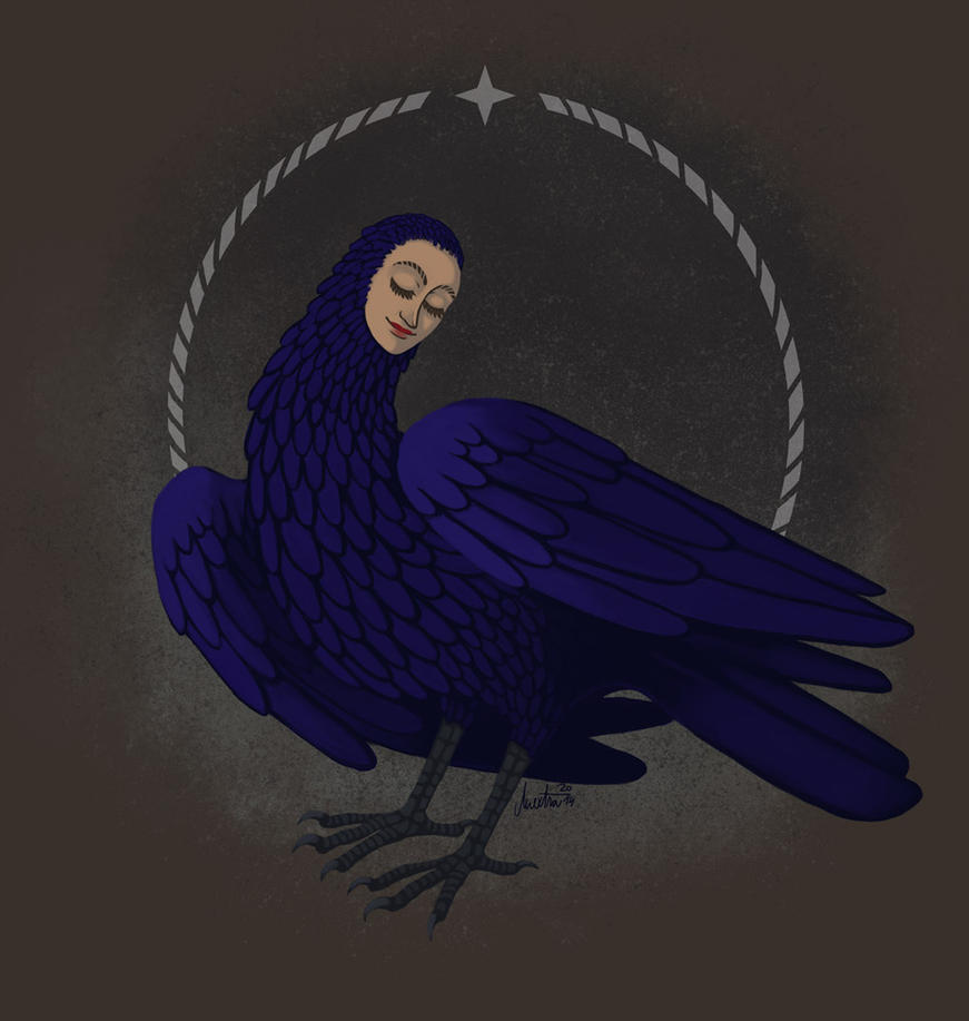 blue bird by Mextra