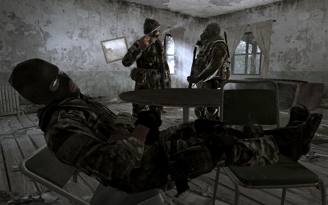 Call of Duty 4: SAS 4 by itbei on DeviantArt