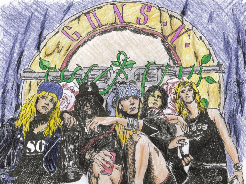 Guns -N- Roses by fearmonger