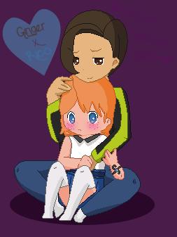 Ginger X Rico ~Pokemon~ by Purple-Galaxy-Girl