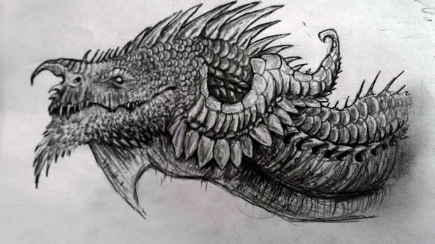 Dragon head (old sketch)