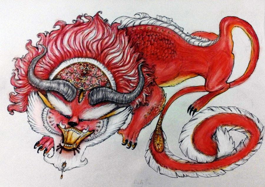 Red velvet Fu by WhiteRose2132