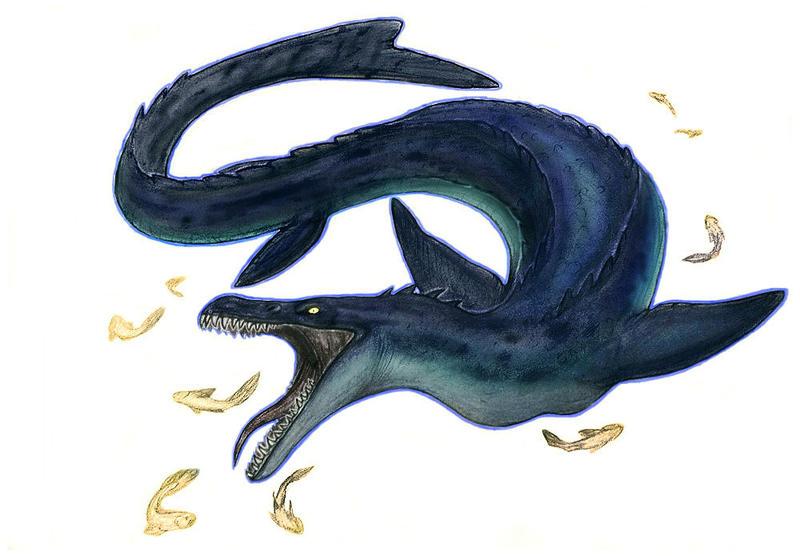 Commission:Mossasaurus